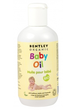 Bentley Organic Baby Oil 250ml