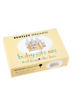 Bentley Organic Baby Gift Set and Keepsake Box